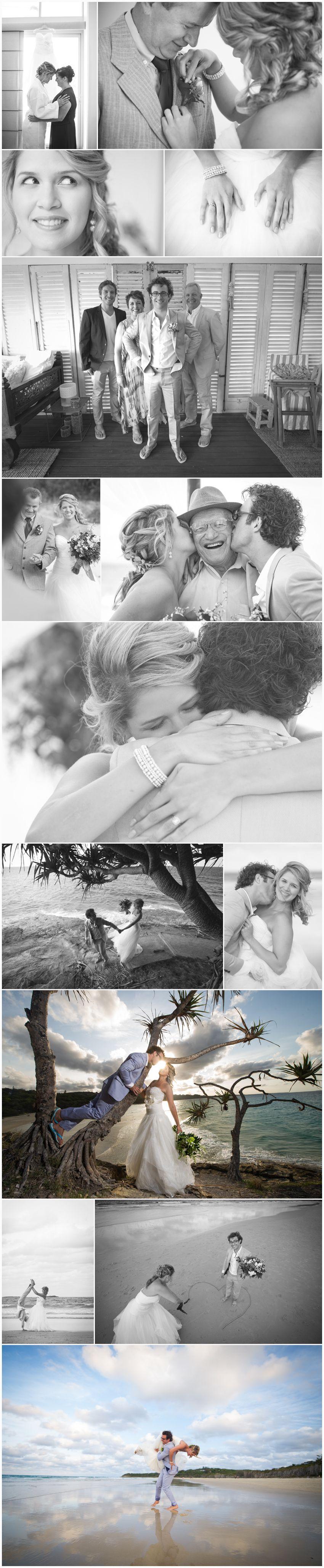 Straddie wedding love story