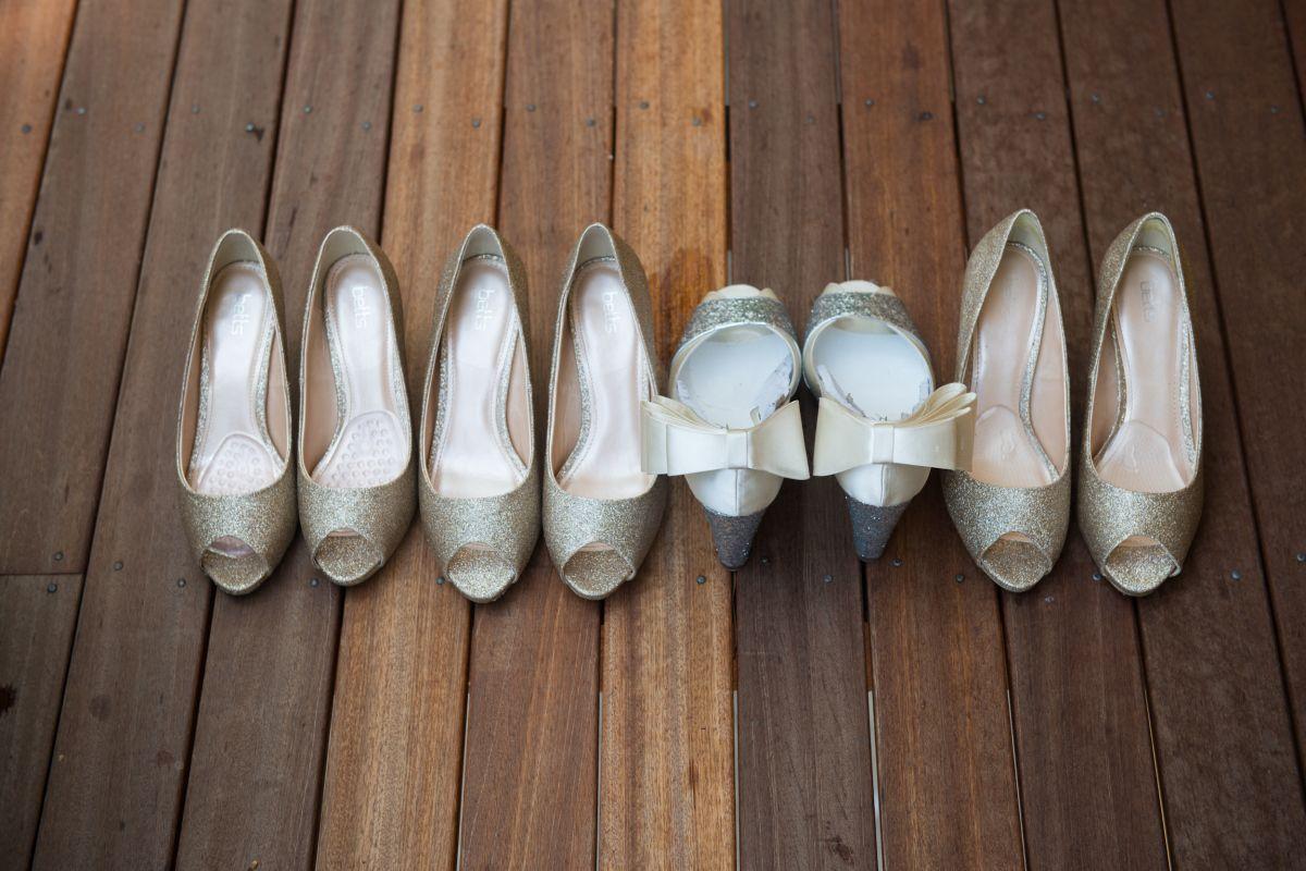 bride' own design shoes