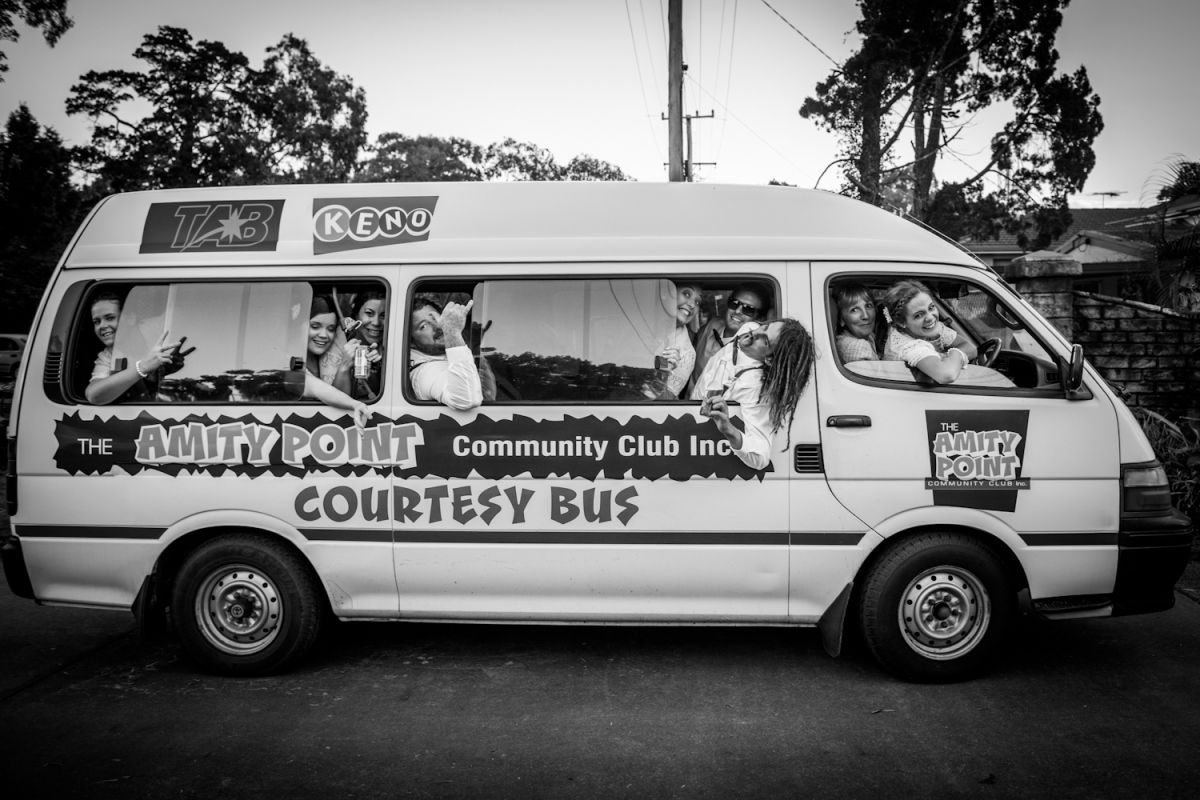 Amity community club bus