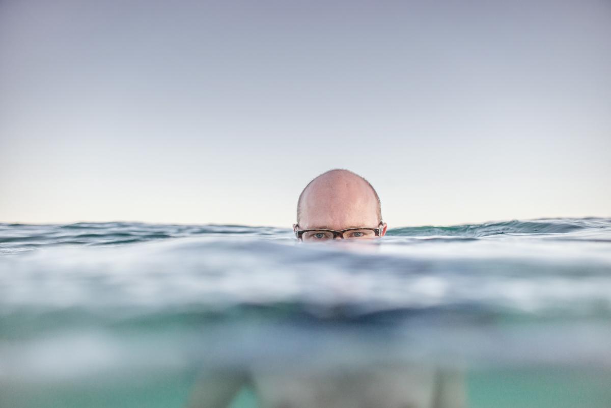 straddie water portrait