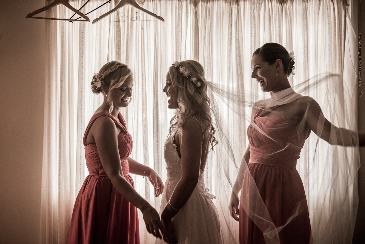 Straddie wedding photo