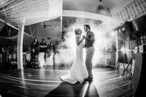 first dance with smoke