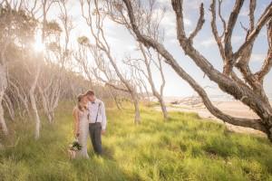 wedding in melaluca trees
