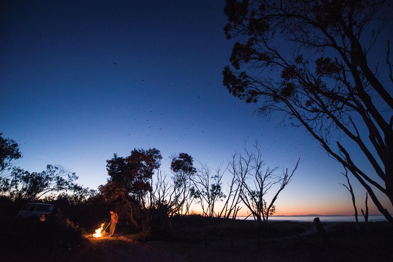 Camping on Flinders