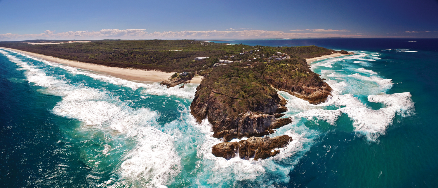 drone straddie point lookout view