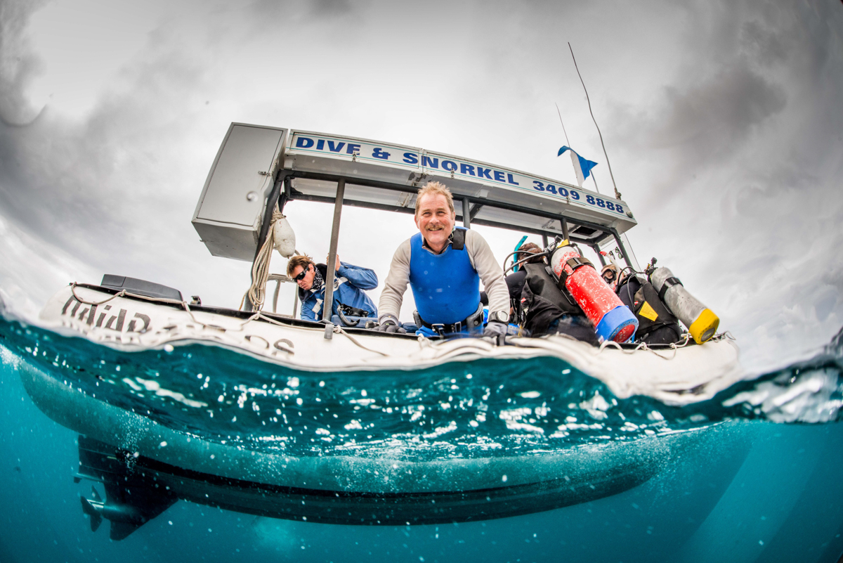 Stradbroke Island scuba diving