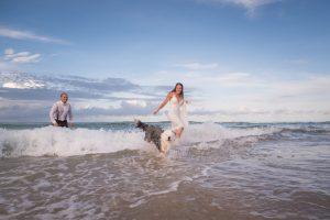 destination wedding trash the dress