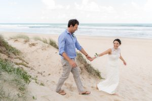 Lee and Jon Coghill Sunshine Coast backyard wedding | Ang&Stu | Stradbroke Island Photography