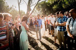 Lee and Jon Coghill Sunshine Coast backyard wedding | Ang&Stu | Stradbroke Island Photography