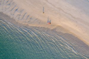 North Stradbroke Island aerial over Point Lookout | Stradbroke Island Photography