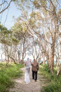 Jade and Rhy | North Stradbroke Island | destination wedding