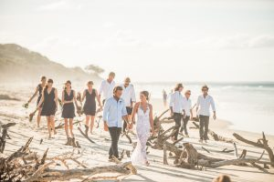 Jade and Rhy | North Stradbroke Island | destination wedding