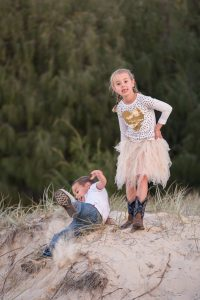 Elaine and Barry's | Flinders family portraits | Straddie