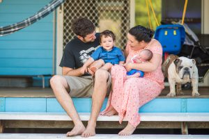 Kym and Al | Stradbroke family portrait | Amity family