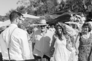 Nicole and Sam | graphic designer wedding | Stradbroke Island