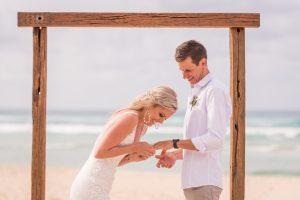 Emma and Chris   stradbroke island destination wedding   Point Lookout community hall