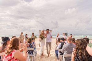 Emma and Chris | stradbroke island destination wedding | Point Lookout community hall