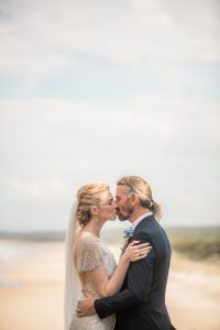 Andrea and Jeremy | Point Lookout Surf Club | Straddie wedding