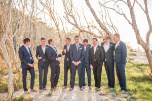 Andrea and Duncan | Straddie wedding |Home Beach