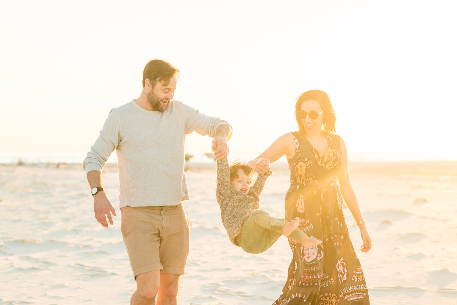 Grantley family portrait shoot on North Stradbroke Island