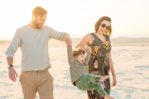 Gyton Grantley family portrait shoot on North Stradbroke Island