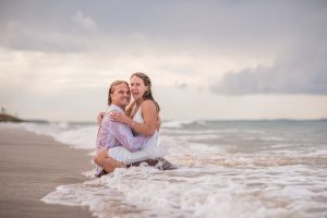 Lauren and Sam Trash the dress straddie