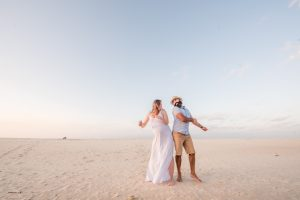 Rob and Rosie | Stradbroke Island maternity photography