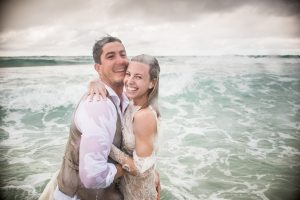 Emma and Anthony | rock the frock |North Stradbroke Island wedding photographer | destination wedding | stradbrokeislandphotography.com