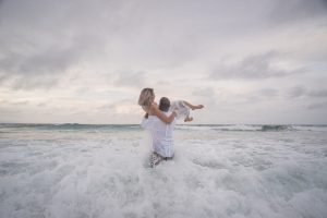 Netty and Joel | rock the frock | Straddie | destination portrait