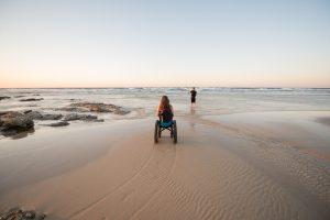 Ozur wheelchair adventures   Straddie   stradbrokeislandphotography.com
