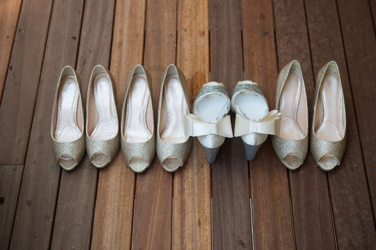 bride' own design shoes