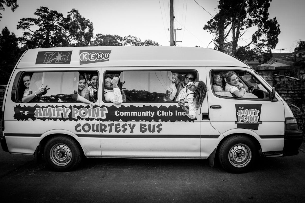 Amity community club bus