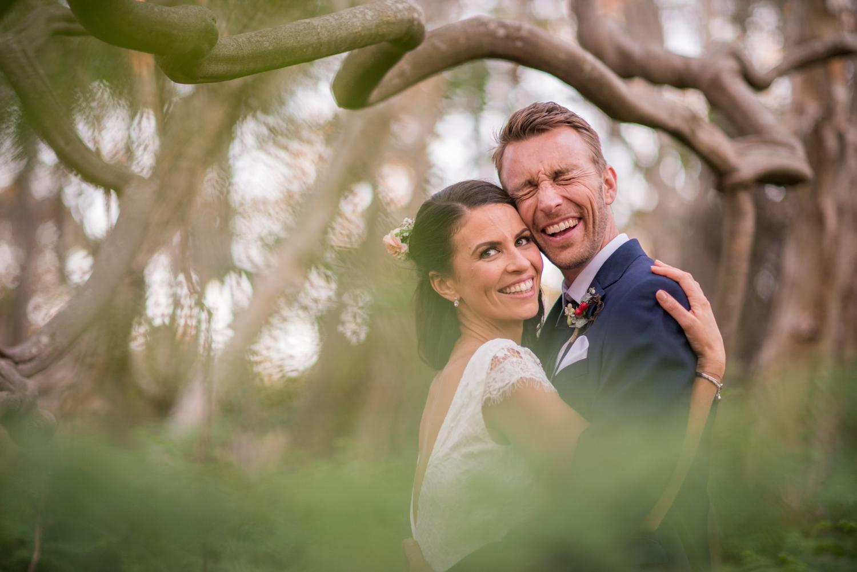 lovely happy wedding couple