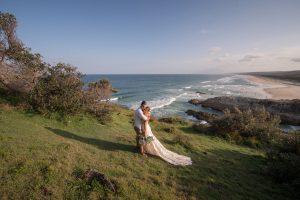 Hannah and Reg   Stradbroke Island   Point Lookout wedding photographer