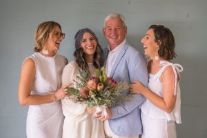 Francesca and James point lookout wedding