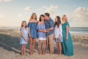 Elaine and Barry's   Flinders family portraits   Straddie