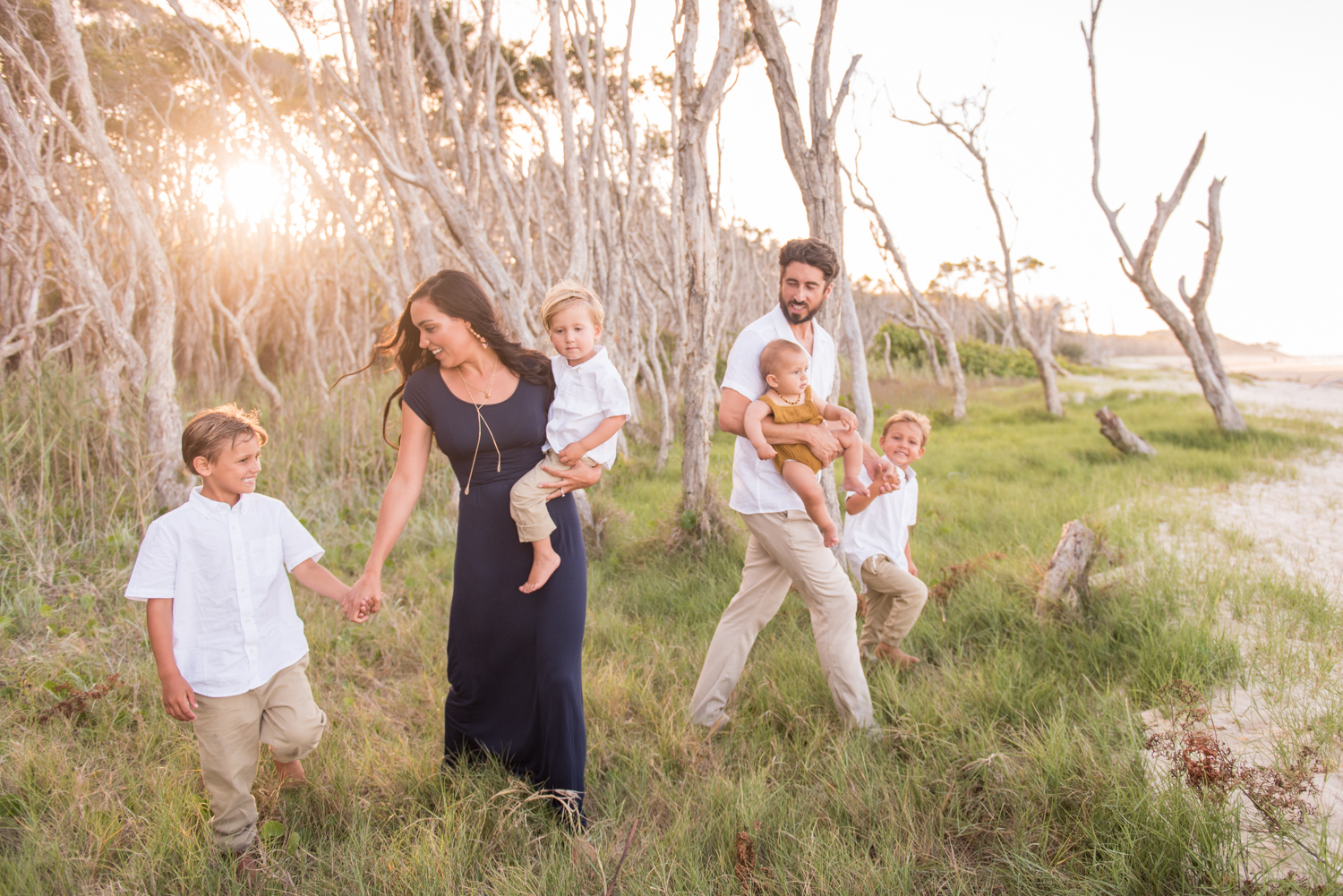 destination portrait on north stradbroke island