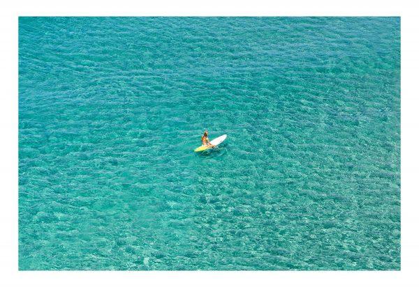 surfer girl blue on North Stradbroke Island / www.stradbrokeislandphotography.com