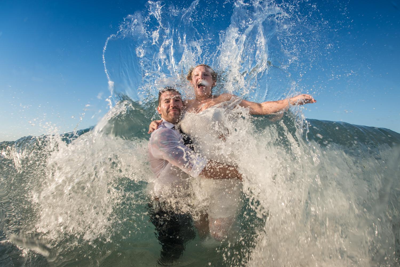trash the dress | Home Beach | Straddie | Haylee and Brysen