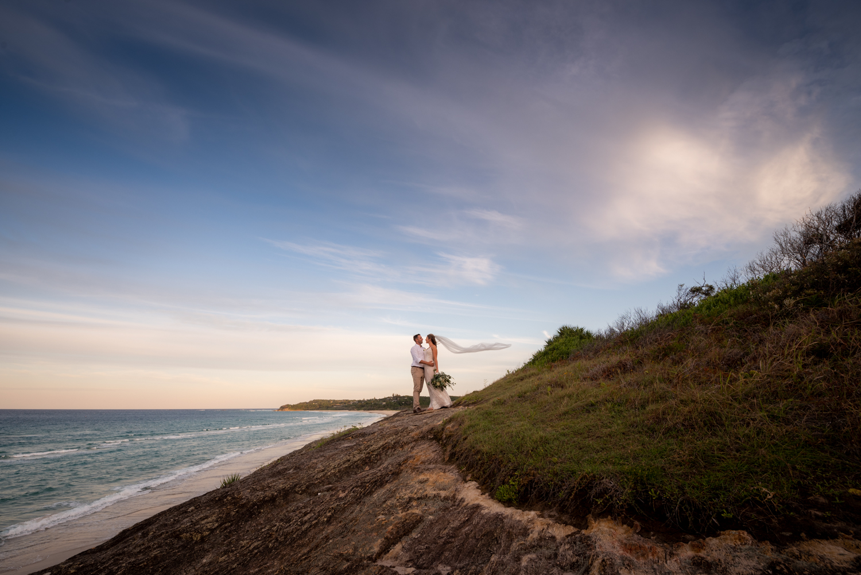 straddie intimate wedding   Hanna and Ash   North Stradbroke Island   destination wedding