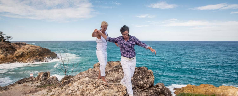 North Stradbroke Island wedding | Katrina and Jody | gay wedding | destination wedding